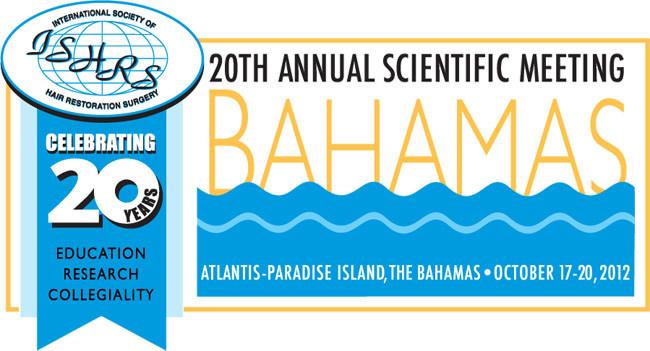 Congrès ISHRS Bahamas logo